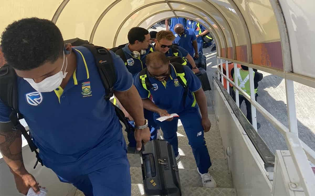 Cricket Image for South African T20 Squad Reaches Grenada For T20 Series Vs WI