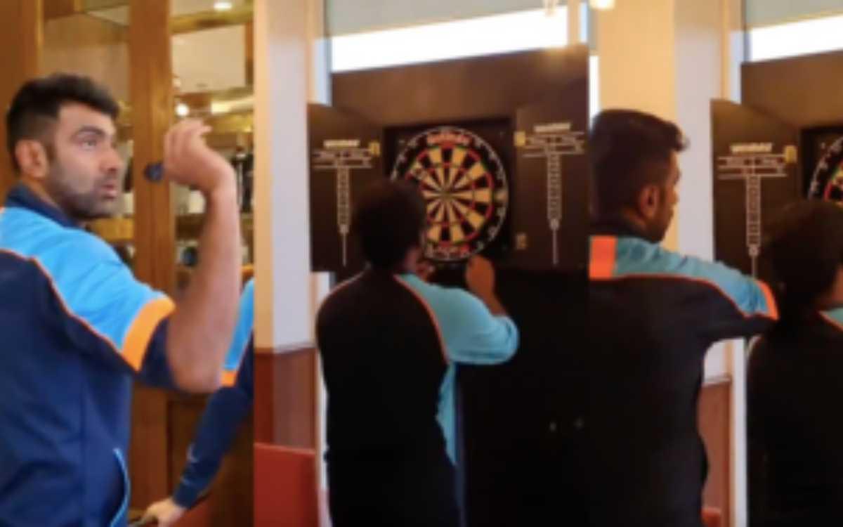 Cricket Image for VIDEO : जब साउथैम्पटन में हो रही थी बारिश, तब टीम इंडिया के खिलाड़ी कुछ इस तरह से