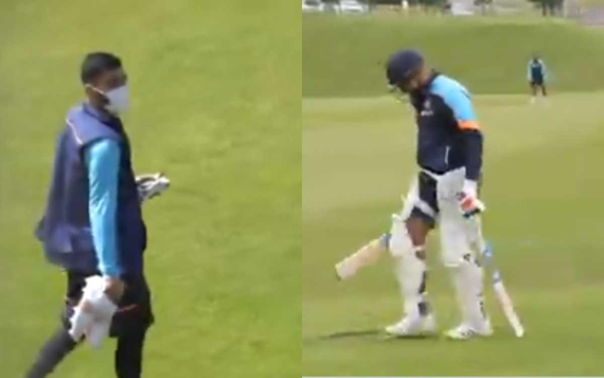 Cricket Image for VIDEO : इंडिया के शेरों ने शुरू की महामुकाबले की तैयारी, BCCI ने शेयर किया पहली ट्