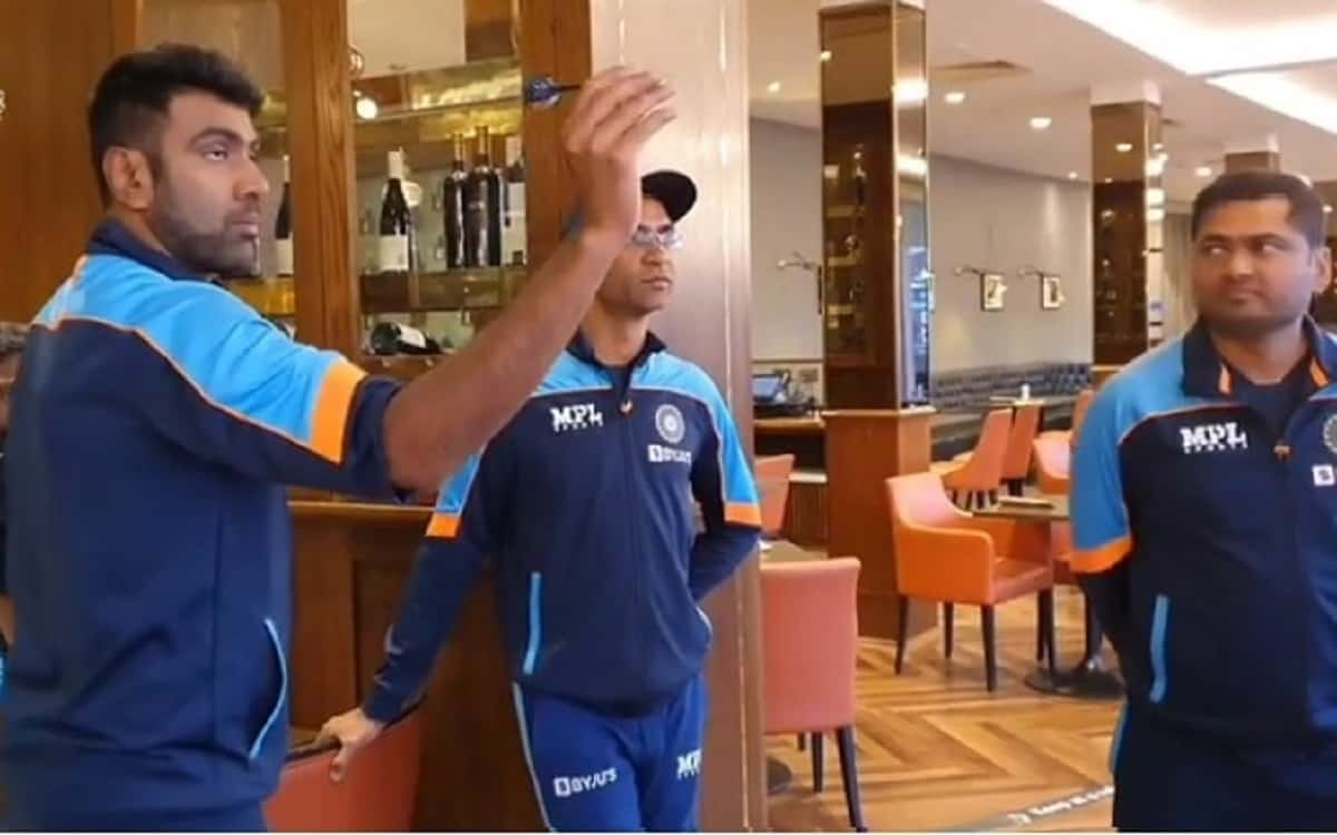 Cricket Image for ENG vs IND: TT, Darts, Shafali's Batting Help Players Pass Time On Rainy Day