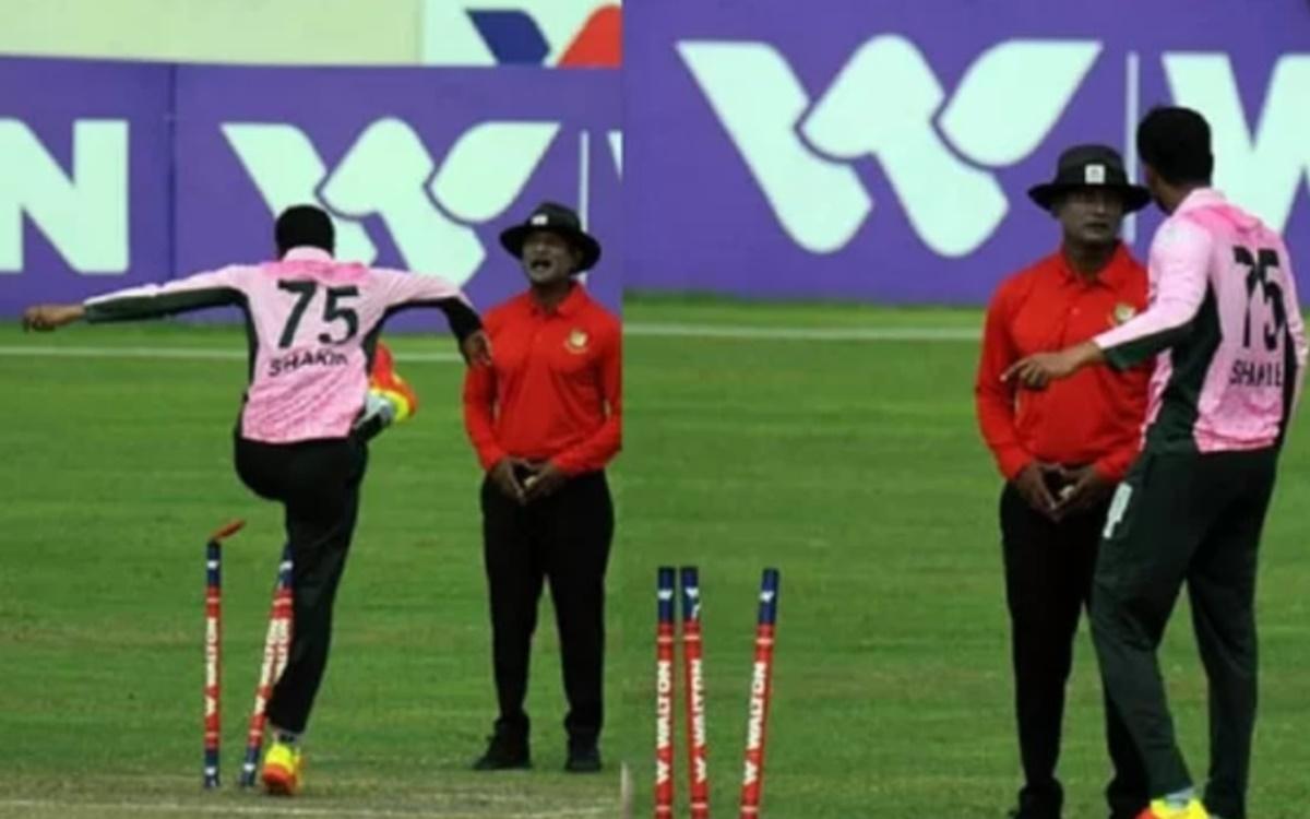 Cricket Image for Umpire Moniruzzaman Gives Up Umpiring Because Of Shakib Al Hasan Controversy