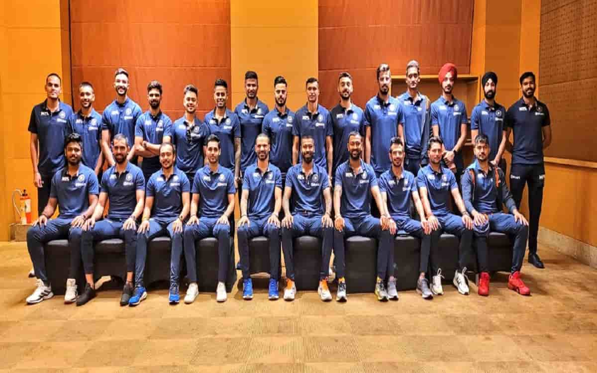 Cricket Image for Under The Captaincy Of Shikhar Dhawan Indian Cricket Team Leaves For Sri Lanka Tou