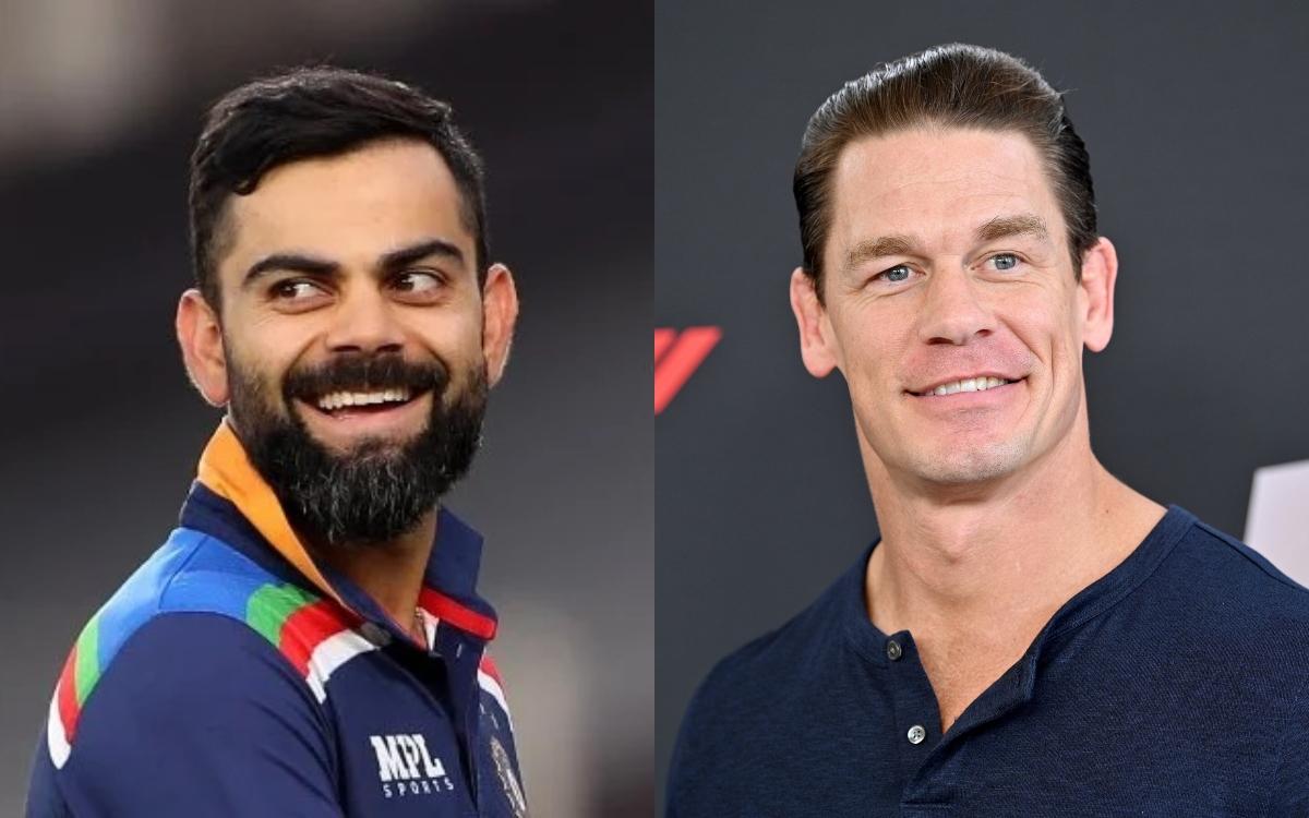 Cricket Image for  Virat Kohli Fan John Cena Shared The Captains Photo After Fans Assumed Wrestler W