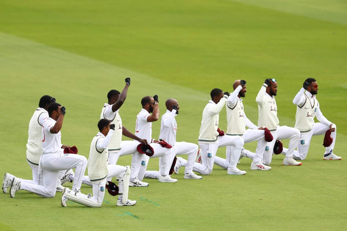 Cricket Image for West Indies Mull Adding Video Collage, Message To Anti-Racism Gesture Ahead Of Sou