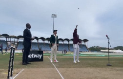 WI v SA, 2nd Test: West Indies Opts To Field Against South Africa