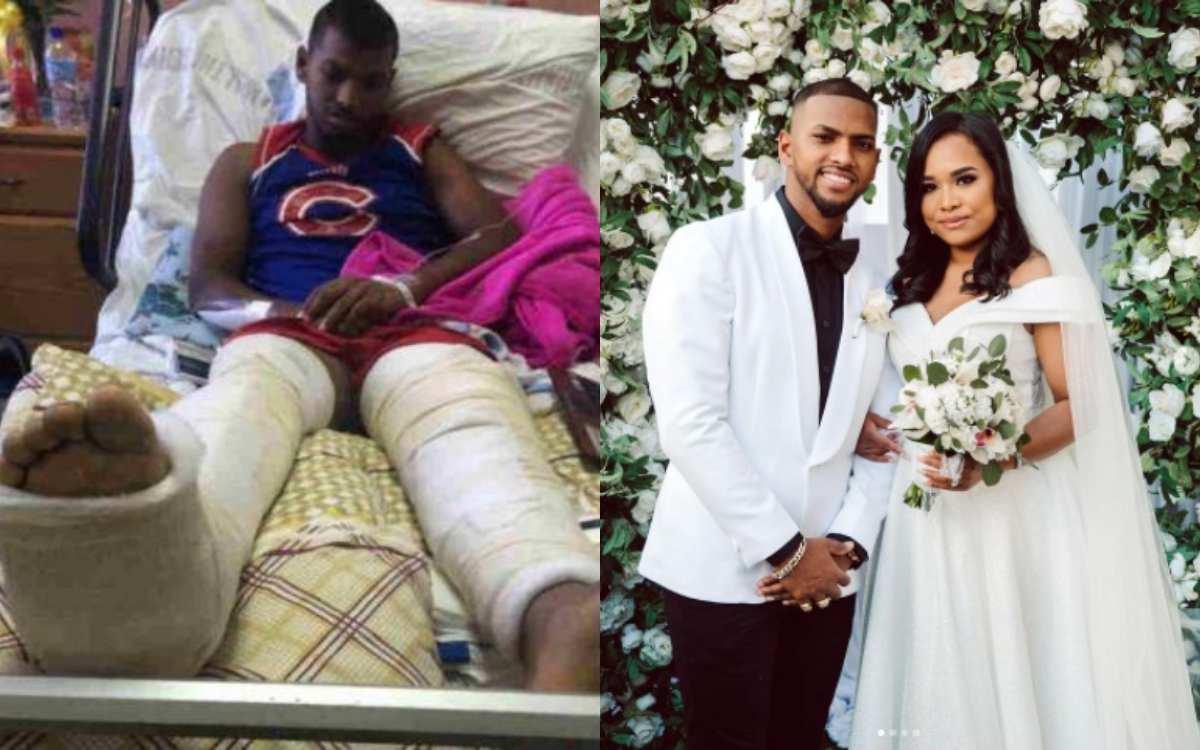 Cricket Image for West Indies Player Nicholas Pooran Married To Alyssa Miguel