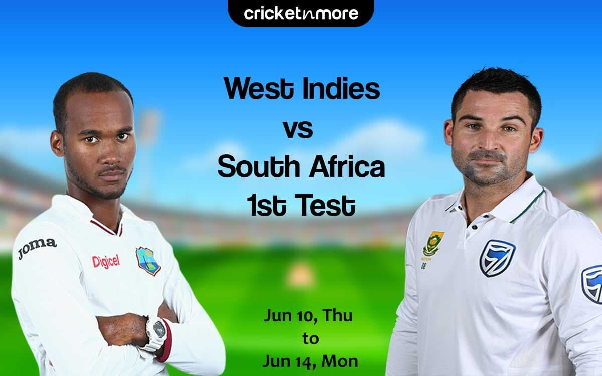 Cricket Image for West Indies vs South Africa, 1st Test – Prediction, Fantasy XI Tips & Probable XI