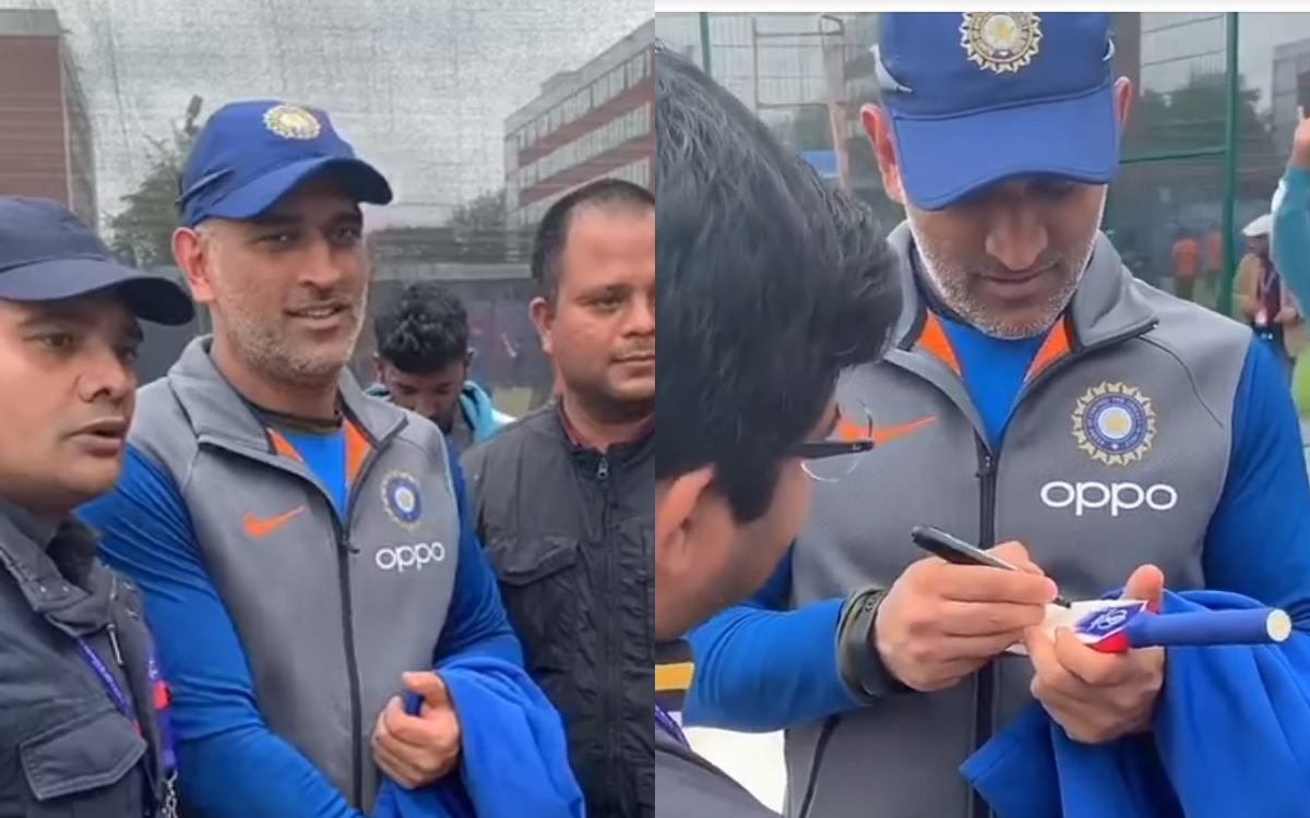 Cricket Image for When People Made Ms Dhoni Frustrated But He Made Then Laugh Watch Video