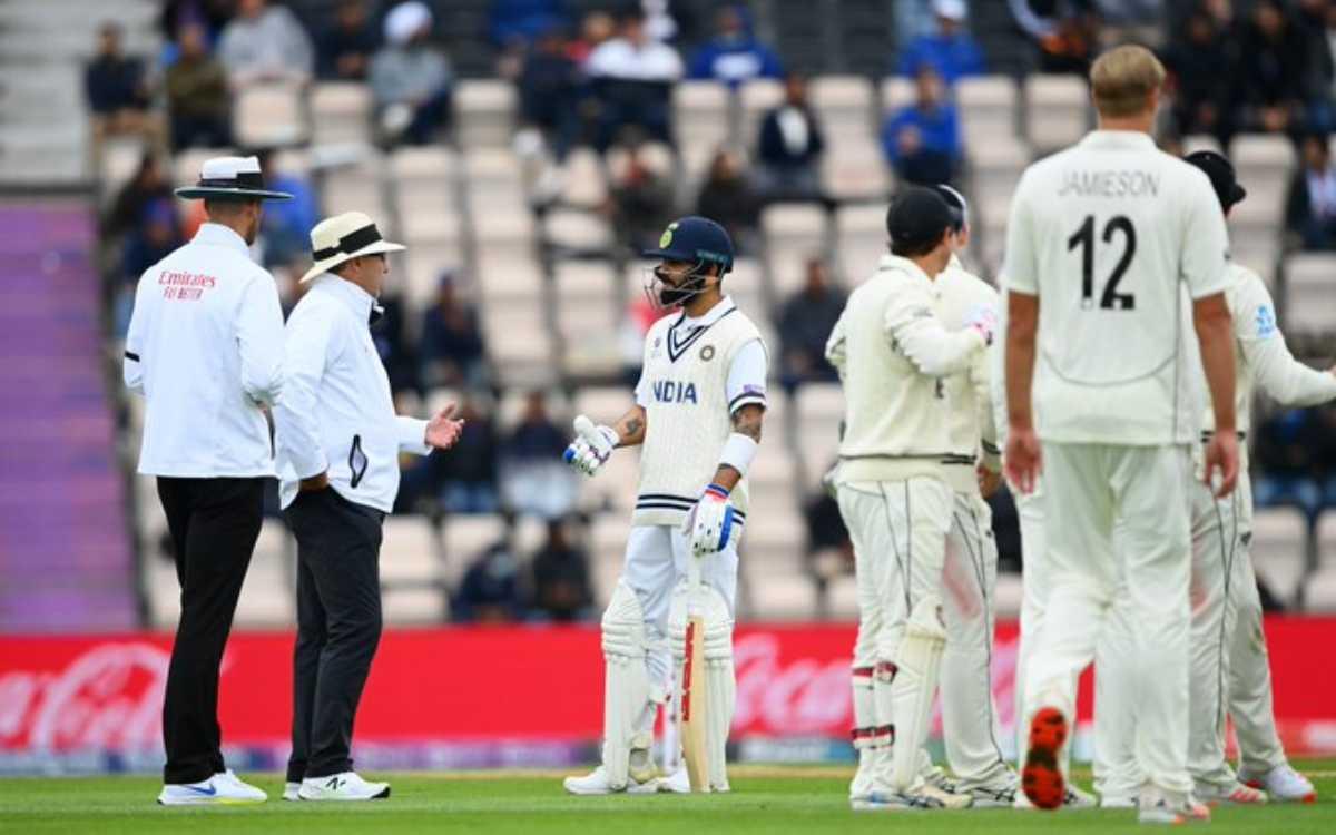 Cricket Image for आखिरकार किसकी गलती पर भड़के विराट, विलियमसन ने नहीं लिया DRS फिर भी हुआ 'Blunder'