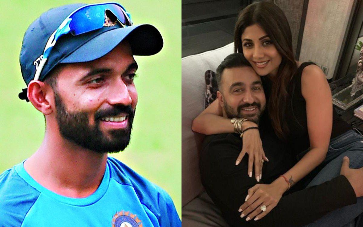 Cricket Image for Ajinkya Rahane Tweet Viral After Raj Kundra Arrest