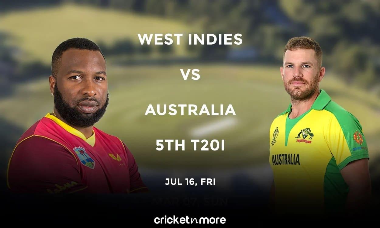 Australia vs West Indies, 5th T20I – Prediction, Fantasy XI Tips & Probable XI