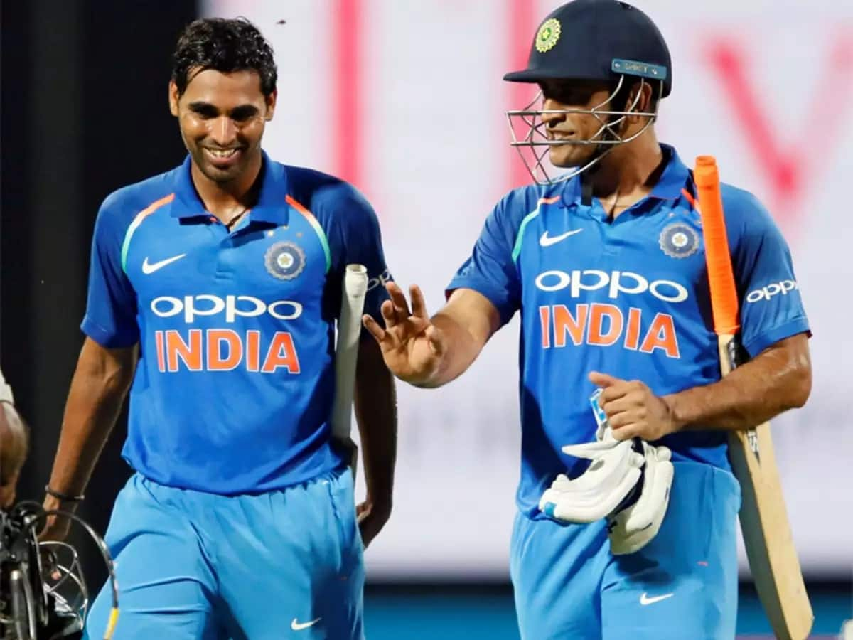 Bhuvneshwar Kumar Reveals Why MS Dhoni Will Always Be Special To Him