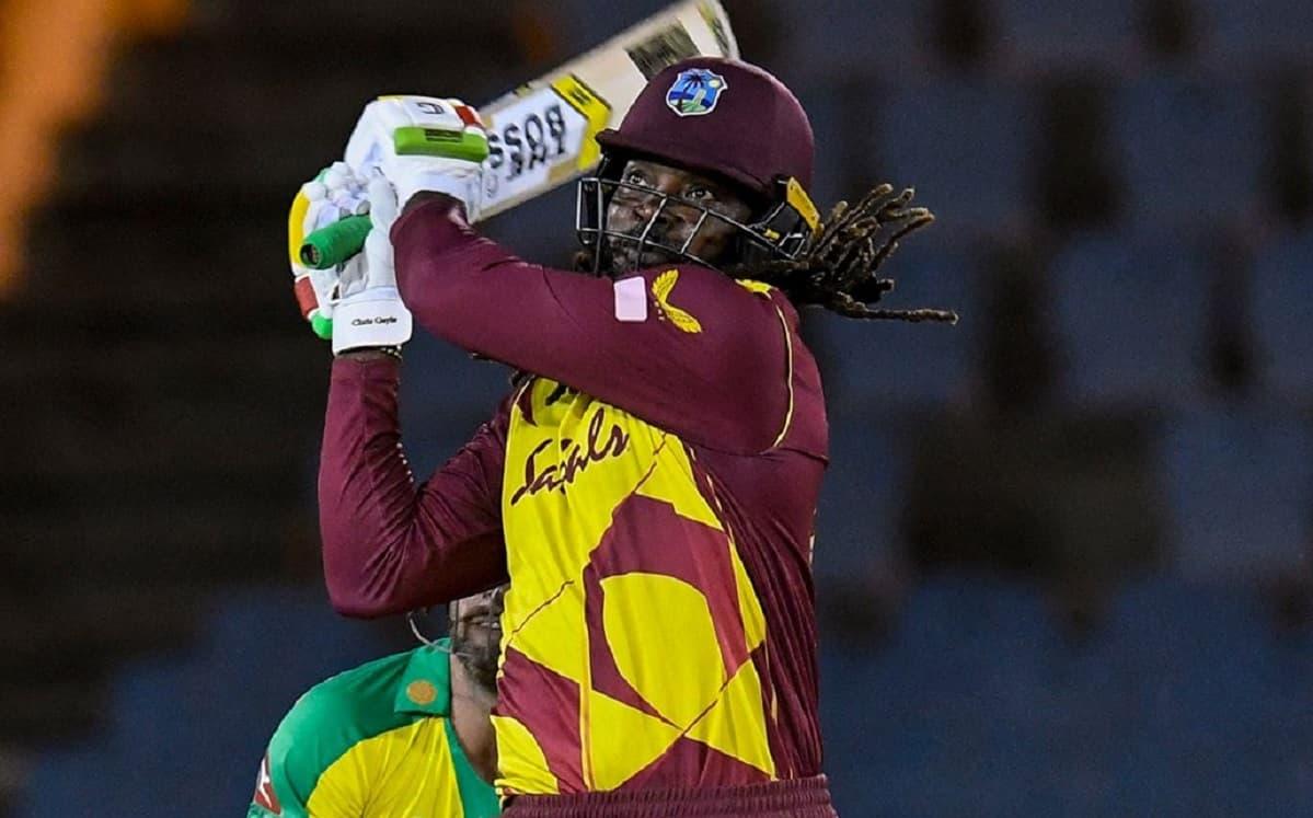 Cricket Image for क्रिस गेल ने तूफानी पारी से लगाई रिकॉर्ड्स की झड़ी,टी-20 में 14000 रन बनाने वाले प