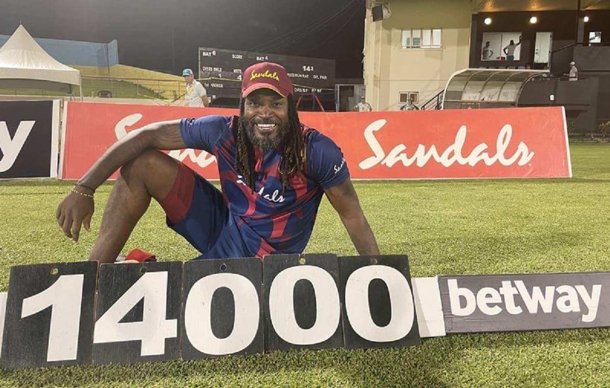 Cricket Image for 14000 रन बनाने के बाद क्रिस गेल ने बताया अपना नया टारगेट, अब इस आंकड़े को चाहते है