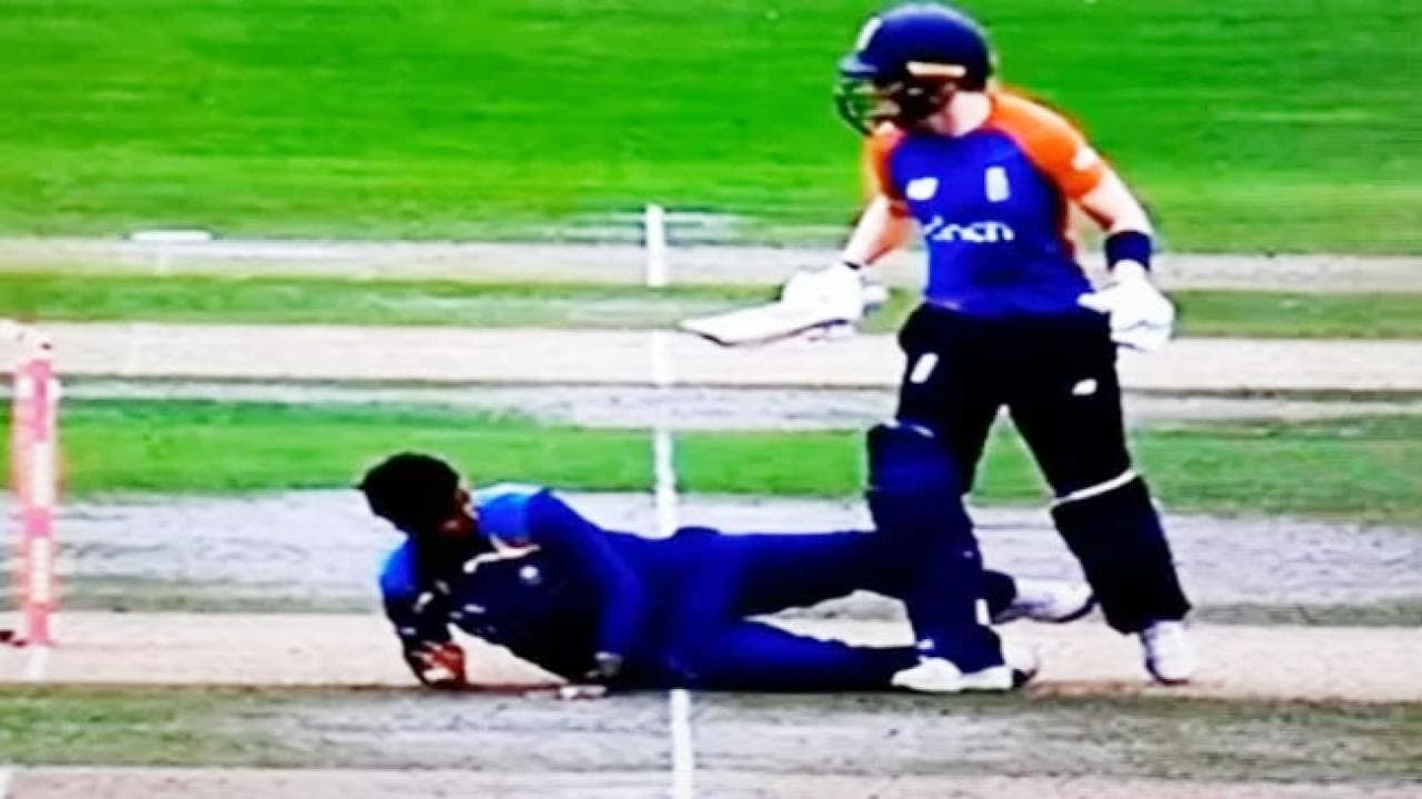 England Women vs India Women: Heather Knight involved in a bizarre run-out in second T20I