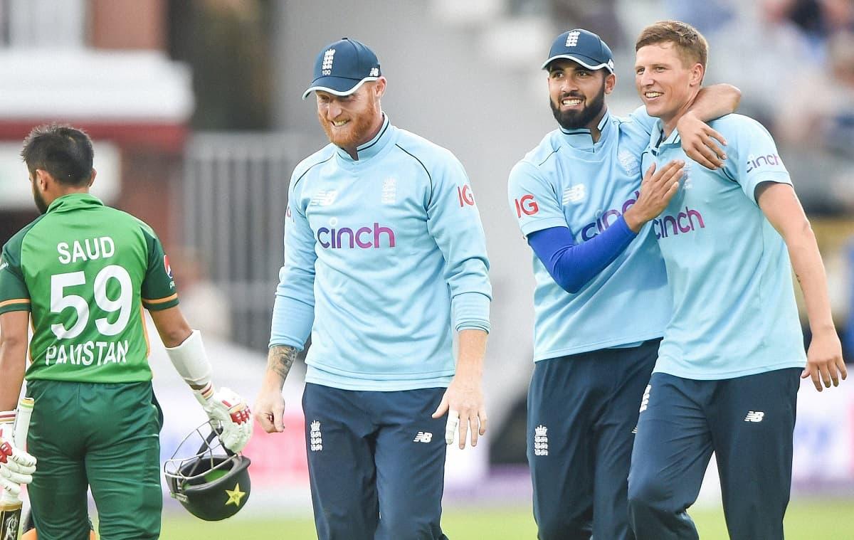 Cricket Image for ENG vs PAK: दोयम दर्जे की इंग्लैंड टीम के हाथों दूसरे वनडे में पाकिस्तान की करारी