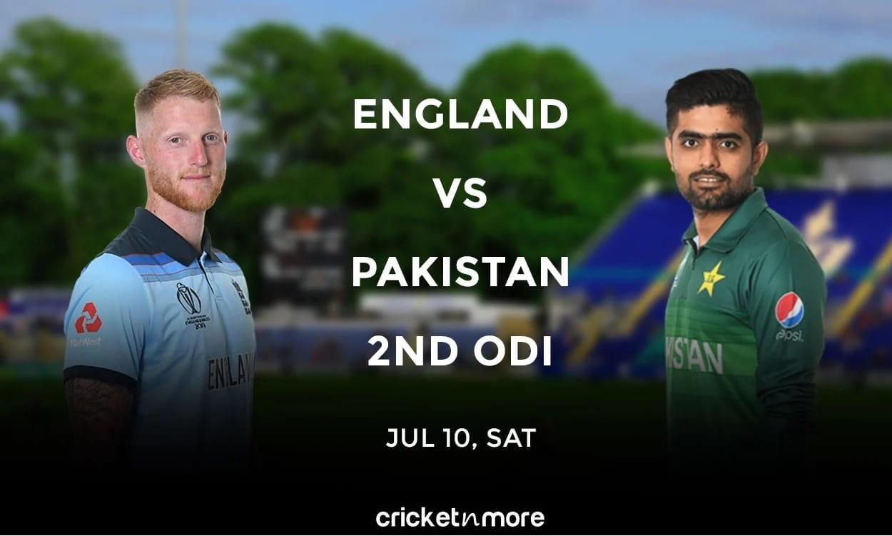 England vs Pakistan, 2nd ODI – Prediction, Fantasy XI Tips & Probable XI