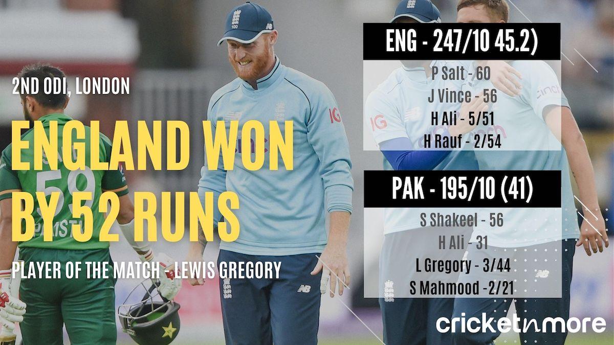 England vs Pakistan Lords ODI