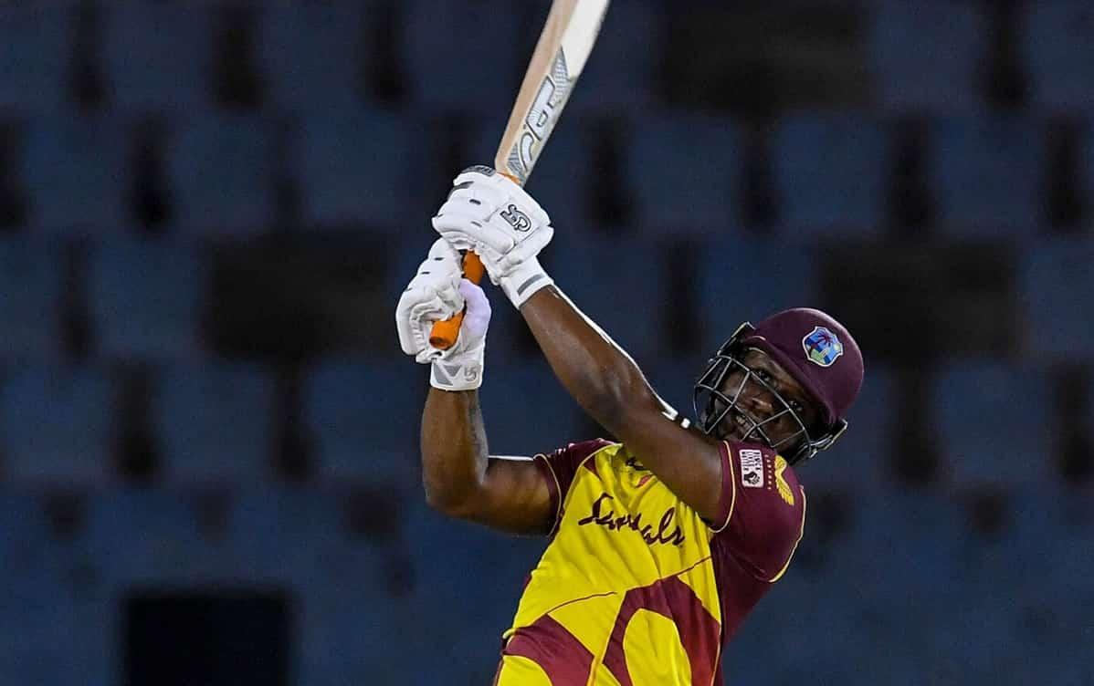 Cricket Image for 5th T20I: एविन लुईस ने तूफानी पारी के आगे ऑस्ट्रेलिया हुई पस्त, वेस्टइंडीज ने 4-1