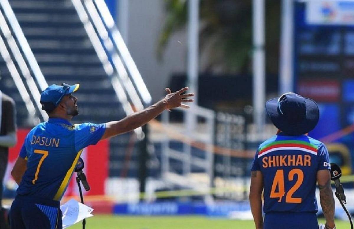India vs SriLanka Toss
