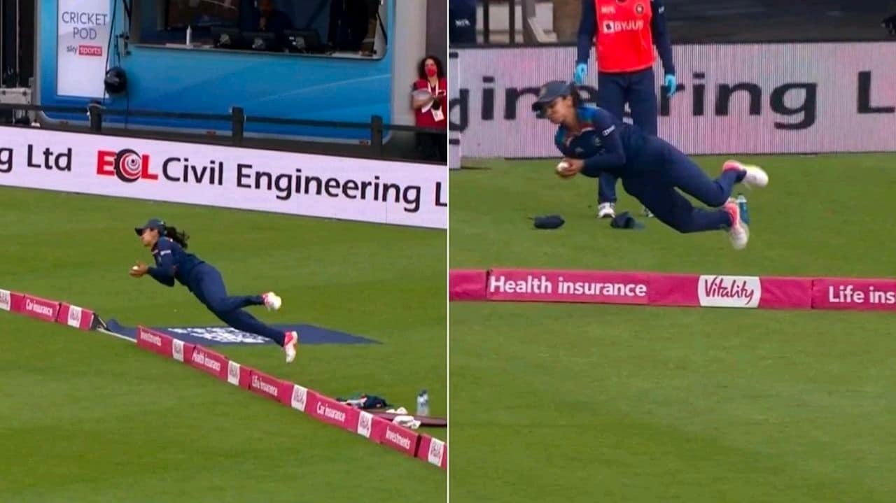 Cricket Image for हरलीन देओल ने पकड़ा महिला क्रिकेट इतिहास का सबसे अद्भुत कैच, देखें VIDEO
