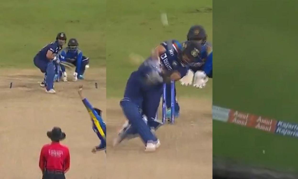 Cricket Image for VIDEO: ईशान किशन ने वनडे डेब्यू पर पहली गेंद पर क्यों मारा छक्का, चहल टीवी पर खोला