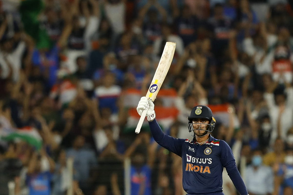 Ishan Kishan smashes a six on the first ball of his ODI debut, Watch Video