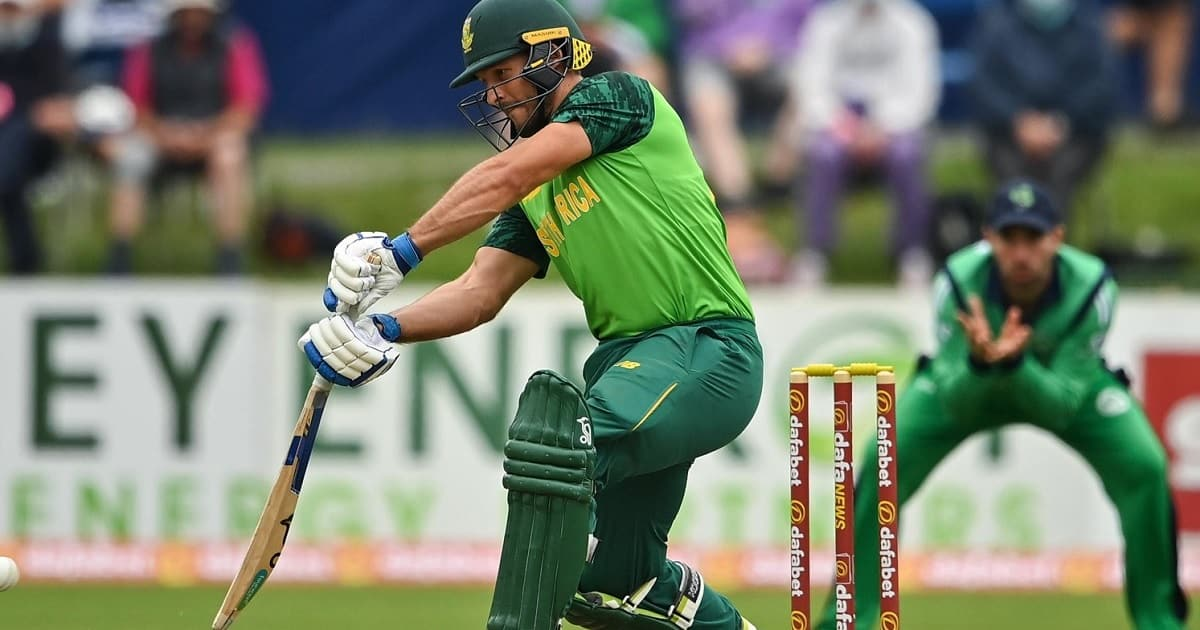 Janneman Malan made record to face most balls in a men's ODI Innings for South Africa