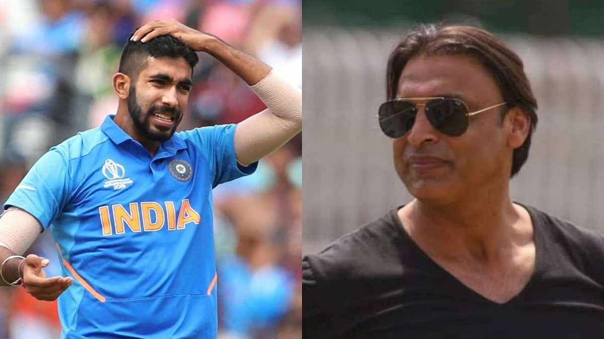Jasprit Bumrah will completely breakdown in one year if you play him every match, Says Shoaib Akhtar