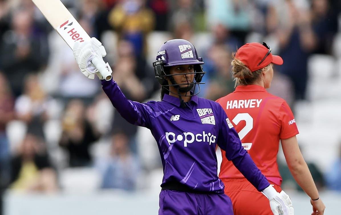 Cricket Image for जेमिमा रोड्रिग्स ने खेली 43 गेंदों में 92 रनों की तूफानी पारी, देखकर केविन पीटरसन