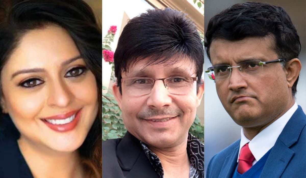 KRK wants to write the biopic of Sourav Ganguly, Says he knows the secret of his love story with nag