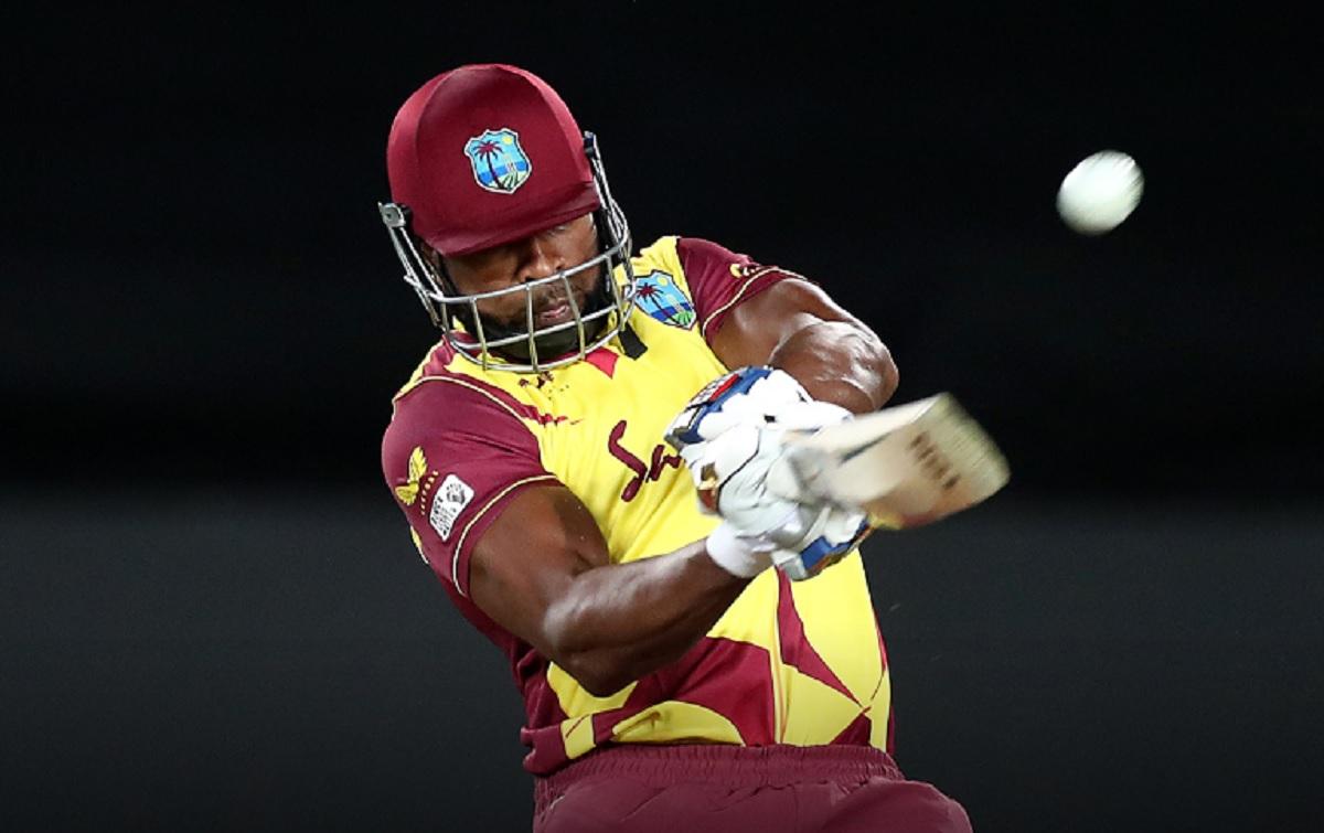 Cricket Image for कीरोन पोलार्ड ने 204 के स्ट्राइक रेट से अर्धशतक ठोककर बनाया रिकॉर्ड,T20I में ऐसा क