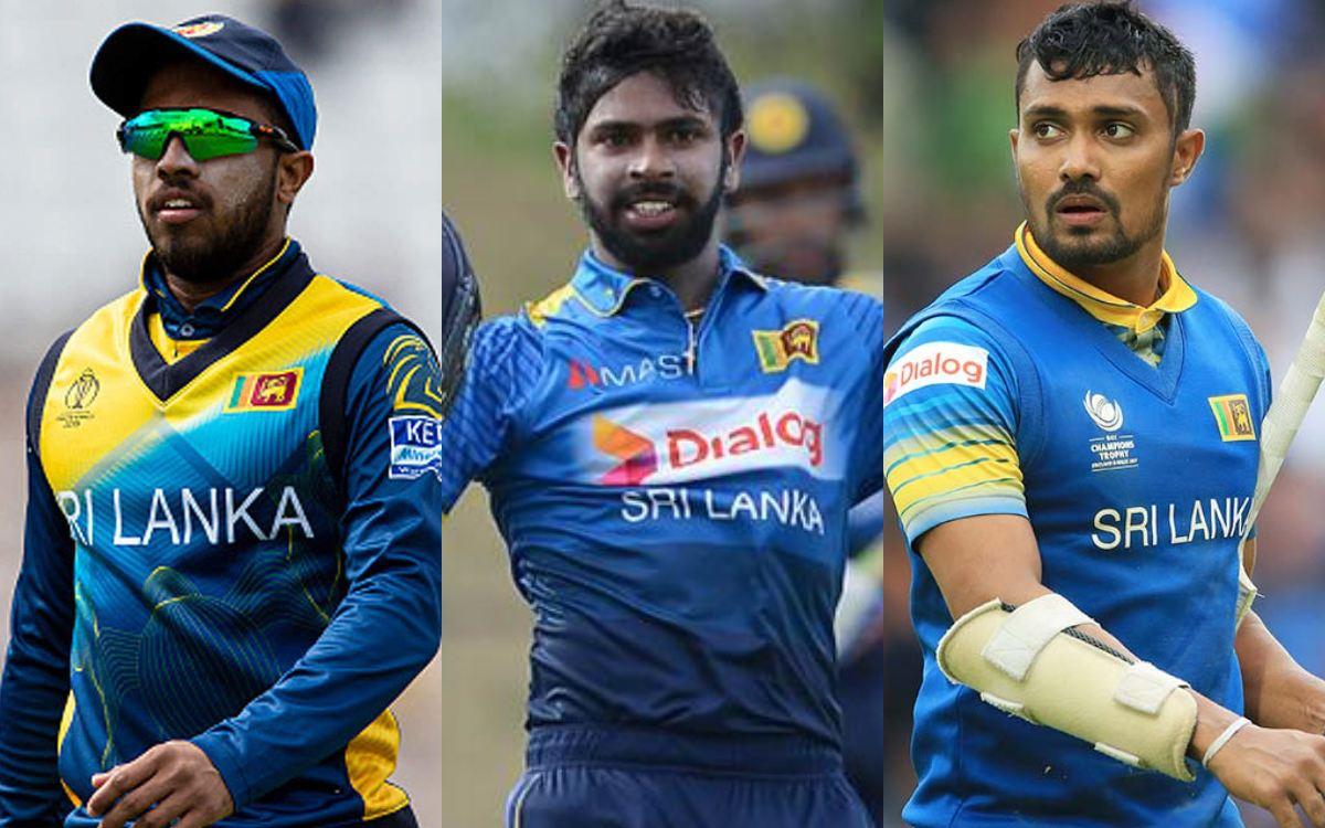 Cricket Image for Niroshan Dickwella Kusal Mendis And Danushka Gunathilaka Handed One Year Bans in H