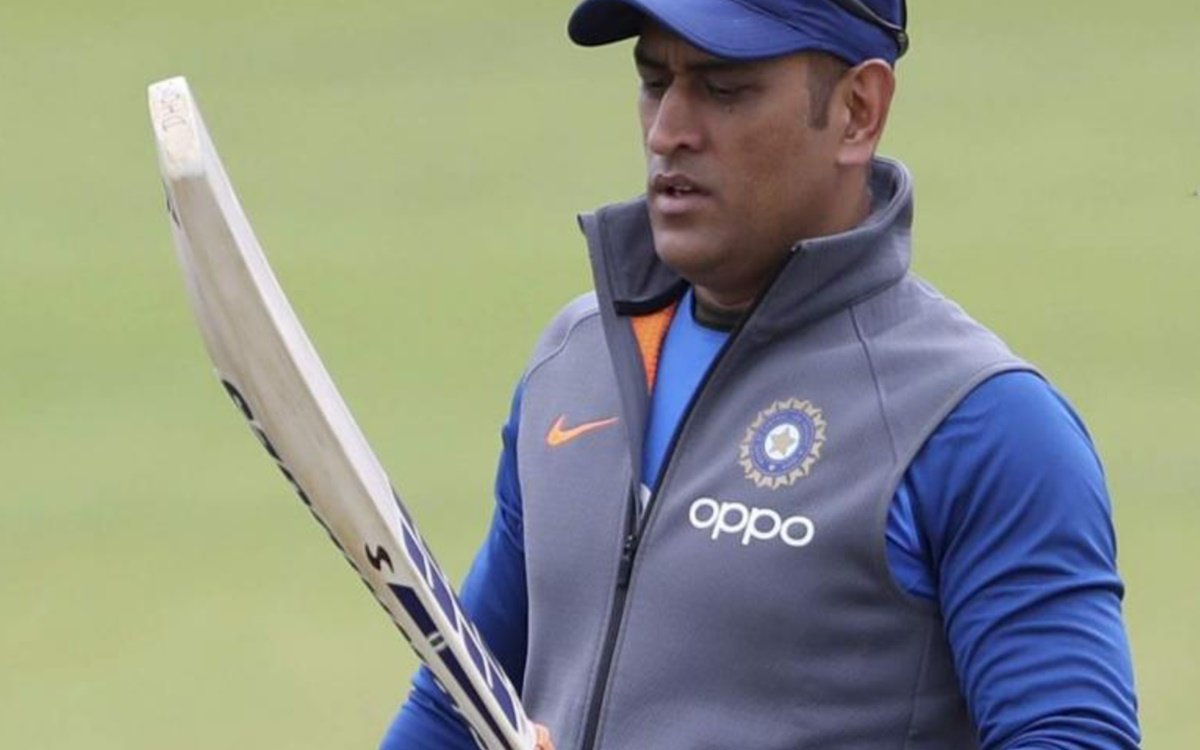 Cricket Image for Ms Dhoni Owns Worlds Most Expensive Cricket Bat