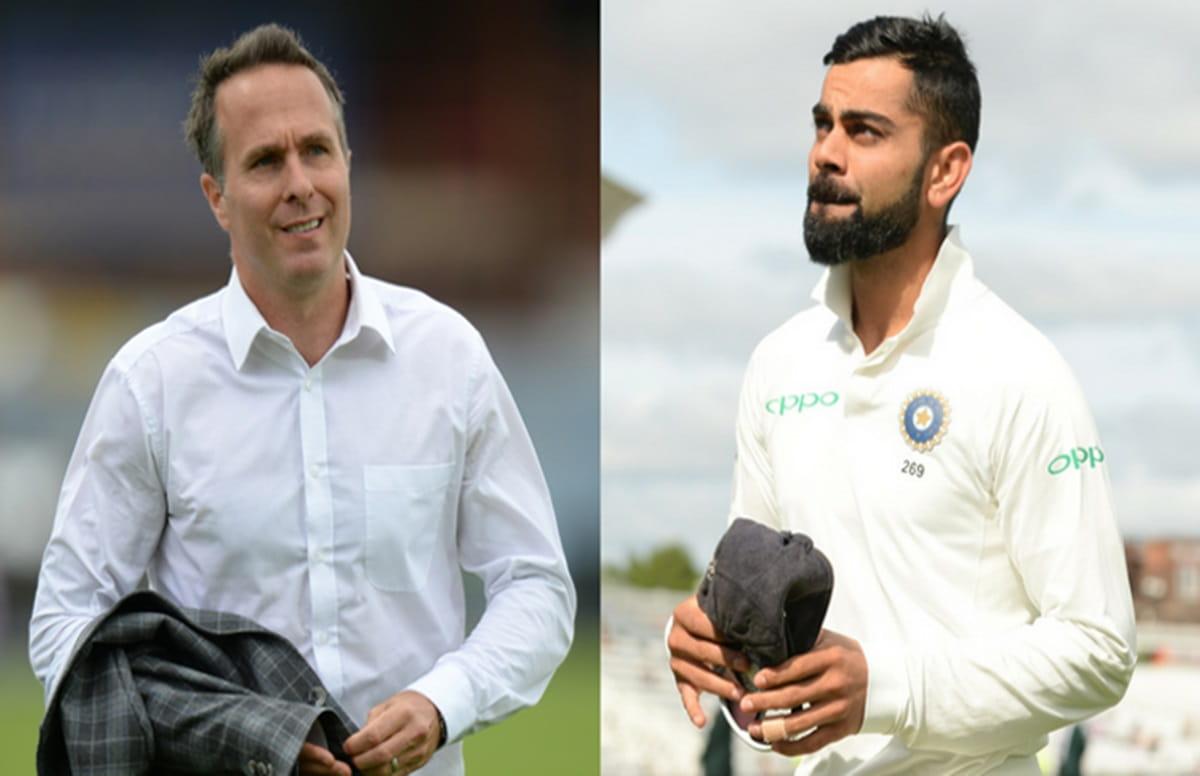 Micheal Vaughan praises India Women by trolling Virat Kohli's men in Hindi