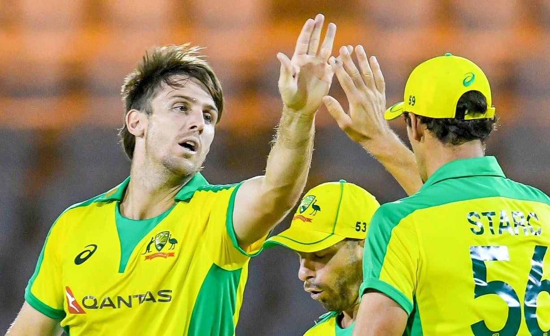 Cricket Image for  4th T20I: ऑस्ट्रेलिया ने रोमांचक मैच में वेस्टइंडीज को 4 रन से हराया, मिचेल मार्श