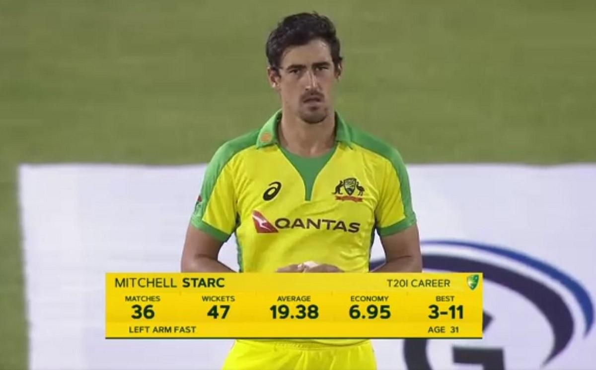 Cricket Image for मिचेल स्टार्क ने बनाया शर्मनाक रिकॉर्ड, T20I में किसी गेंदबाज के साथ पहली बार हुआ