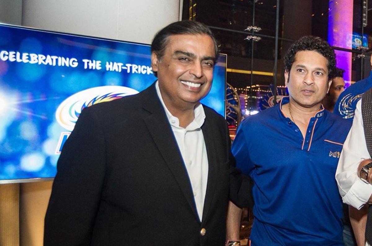 Cricket Image for Mumbai Indians Owner Mukesh Ambani Net Worth