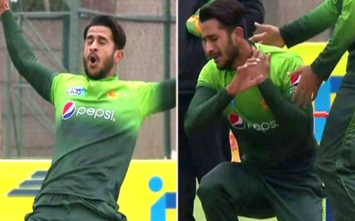 Cricket Image for Pcb Uses Middle Finger Emoji To Wish Hasan Ali