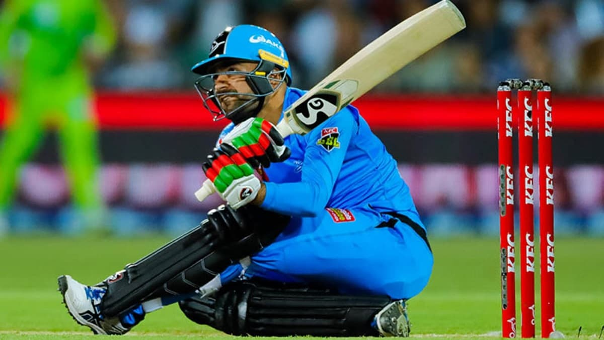 Rashid Khan eyes batting at number four for Afghanistan in future