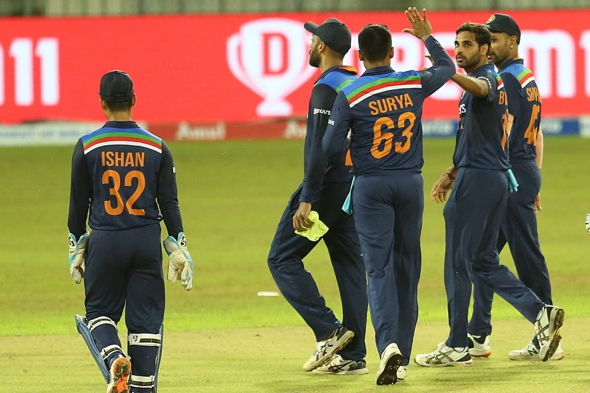 SL vs IND India beat Sri Lanka by 38 runs in 1st t20i