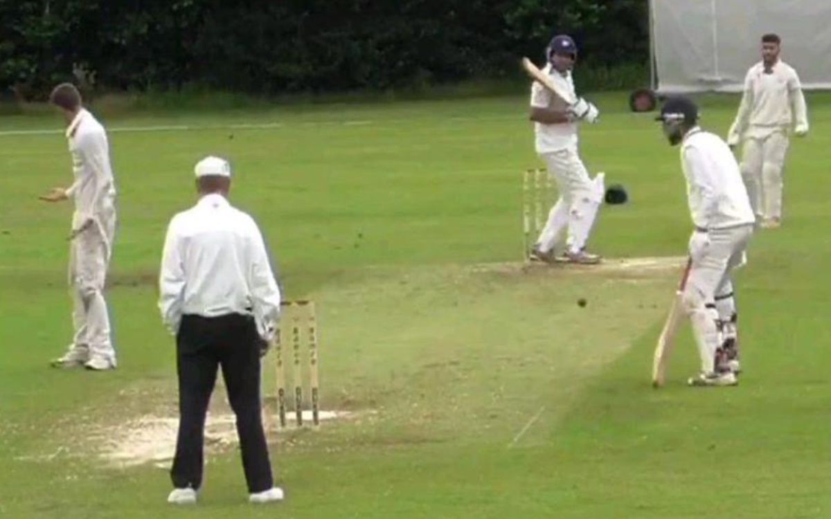 Cricket Image for Sarthak Kohli Embarrassing Runout In The History Of The Cricket Watch Video