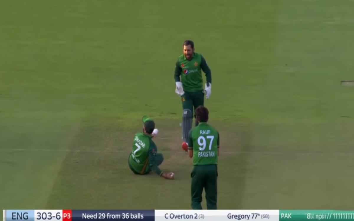 Cricket Image for Eng Vs Pak 2021 Shadab Khan And Sarfaraz Ahmed Engage In A Banter Watch Video