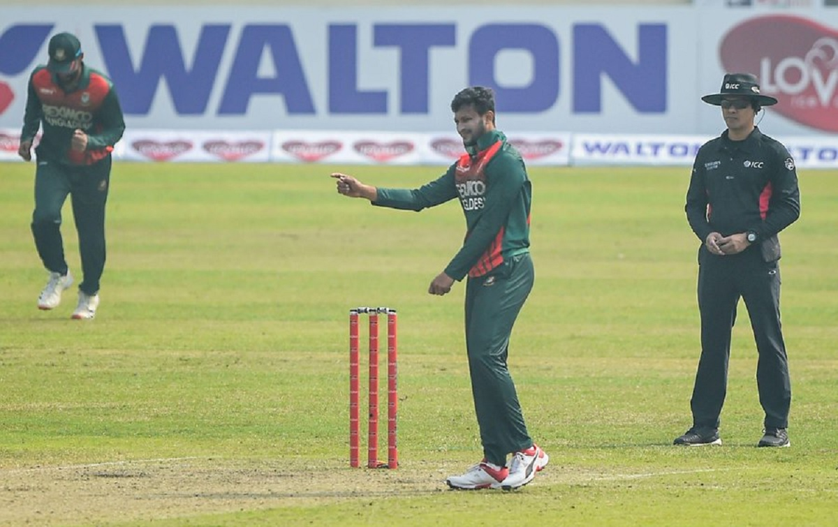 Cricket Image for Shakib Al Hasan Takes Five, Liton Das Slams Century As Bangladesh Crush Zimbabwe