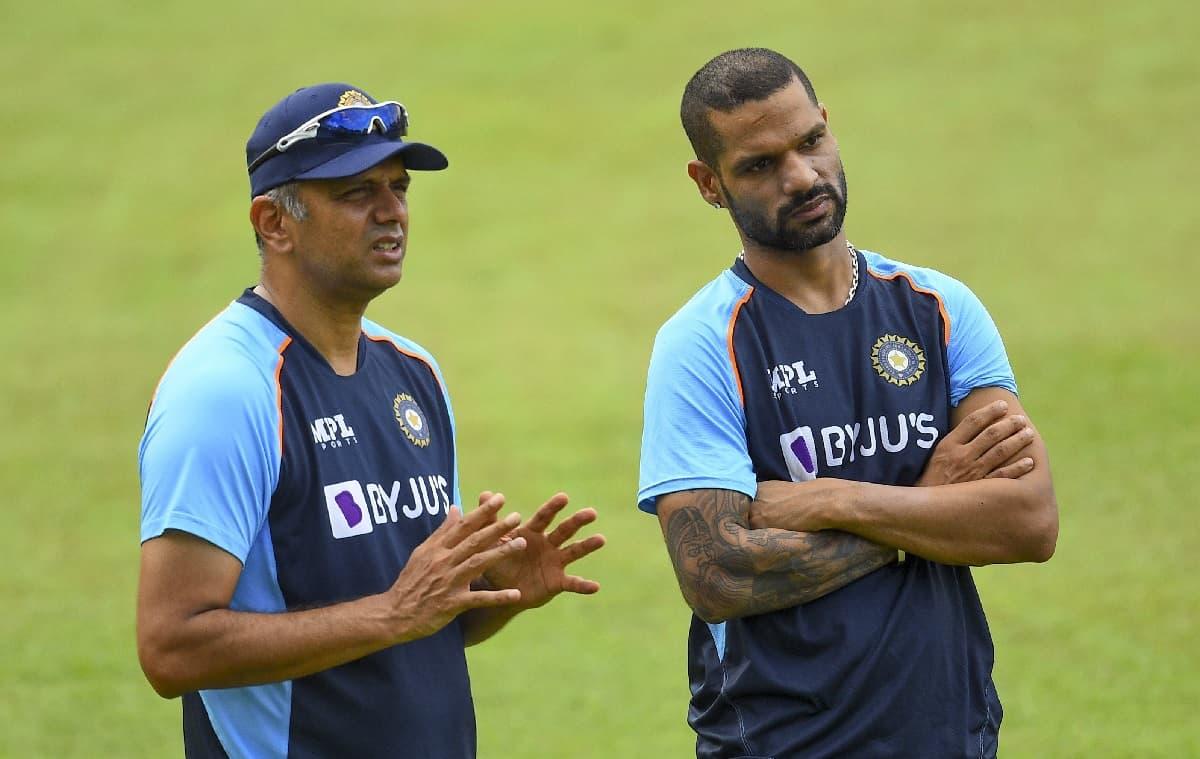 Cricket Image for शिखर धवन की कप्तानी वाली भारतीय टीम को अर्जुन राणातुंगा ने कहा दूसरे स्तर की टीम,श