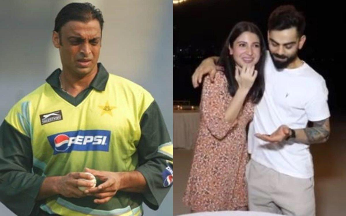 Cricket Image for Shoaib Akhtar Told Anushka Sharma That Virat Kohli Is Making Mistake By Being Capt