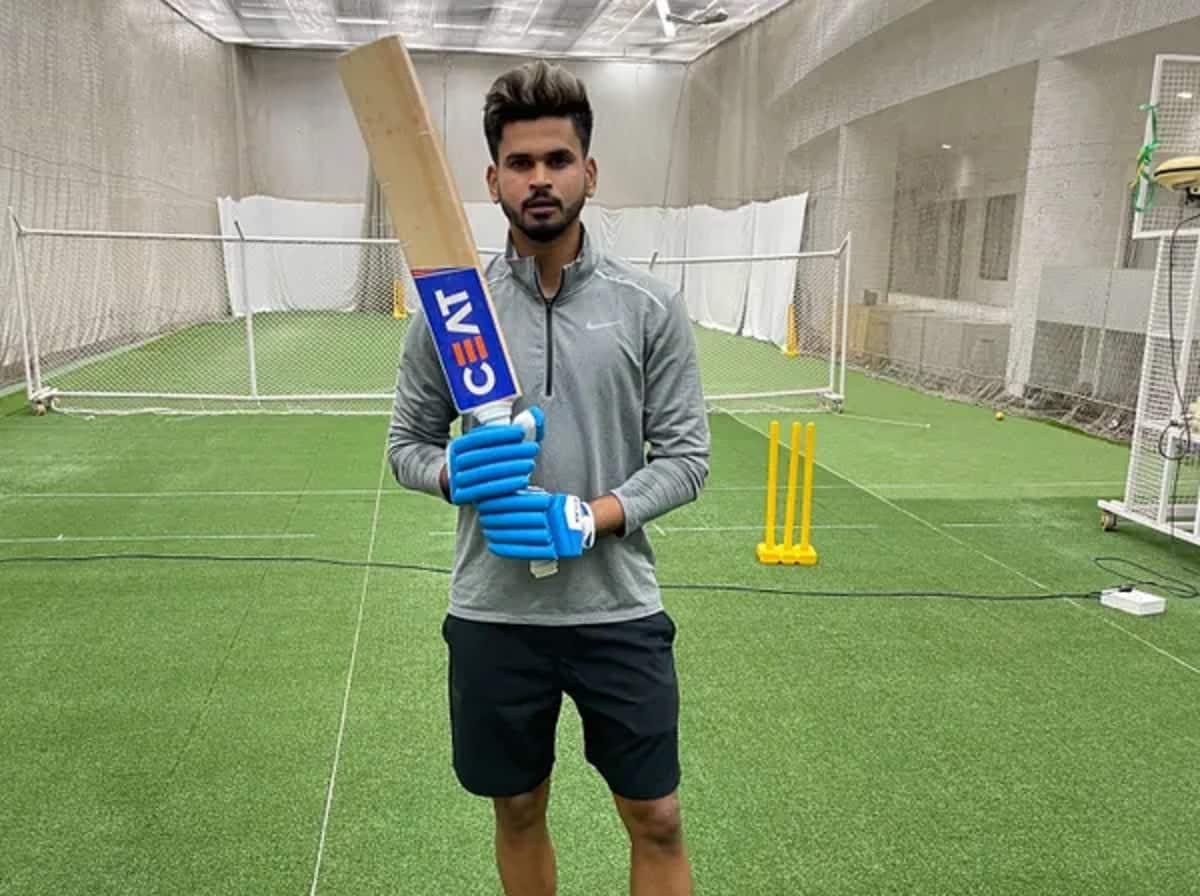Shreyas Iyer kicks off preparations for IPL 2021, hits nets after 100 days - watch video