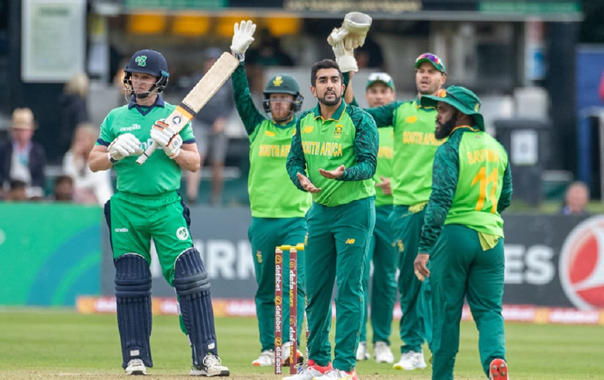 South Africa have won the toss and opt to bowl in second odi against Ireland