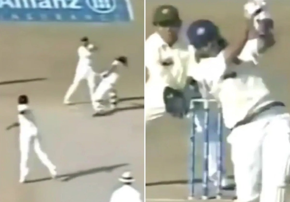 Throwback - Dhoni's epic reply to Danish Kaneria after Pak spinner's dangerous throw aimed at his he