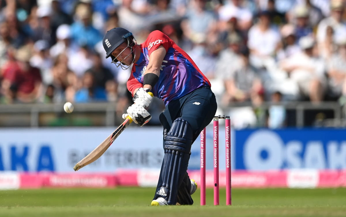 VIDEO - Liam Livingstone smashes 122 meter long six against Pakistan in 2nd T20I